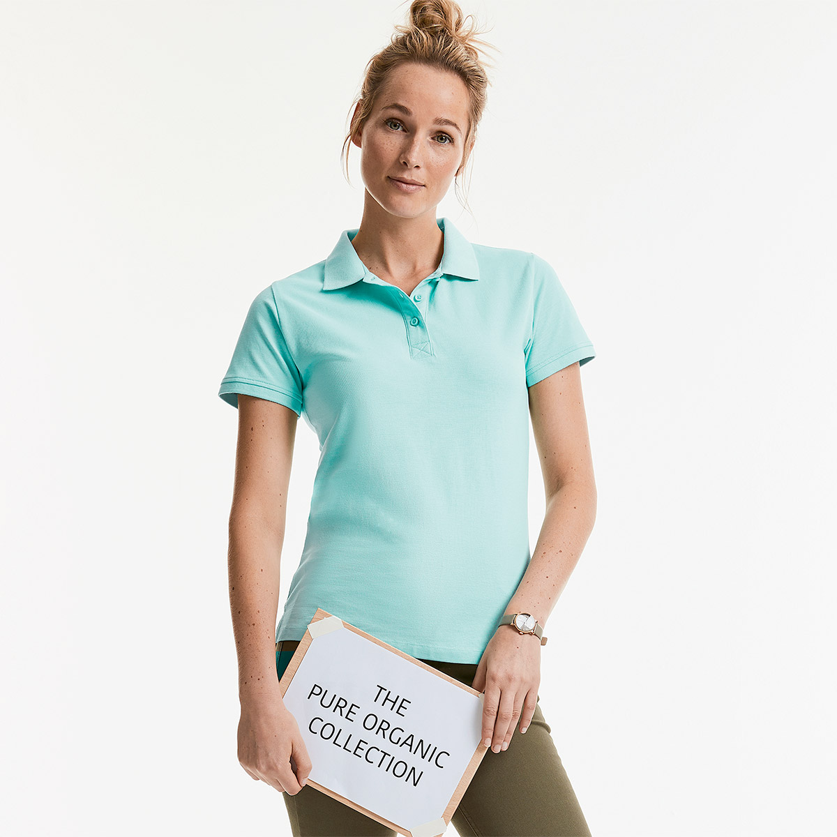 Ladies' Pure Organic Polo